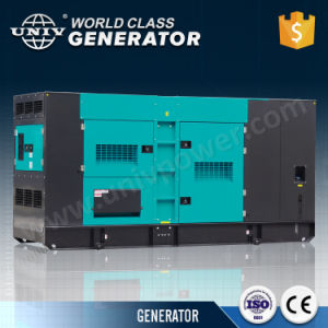Золото поставщиком одна фаза Super Silent дизельного генератора