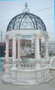 Het antieke Paviljoen van de Tuin met Kalksteen van het Zandsteen van het Graniet van de Steen het Marmeren (GR029)