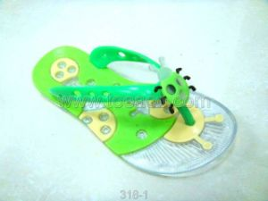 Pvcu Jelly Shoes/PVC Slippers (318-1)