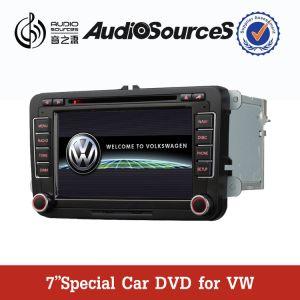 7 GPS를 가진 Vw, Bt, RDS, 라디오, iPod etc. (ANS610)를 위한 인치 HD TFT 2 DIN 차 DVD GPS 항법 선수