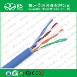Cat5e UTP Cable de red con Cmx/CM/CMG/CMR verificado