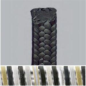 Asphalt-Flansch-Verpackung des Grubenpumpe-Ventil-Komprimierung Eptfe Graphitzusammengesetzte Schwarz-PTFE