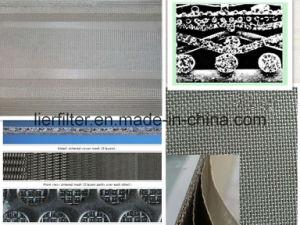 De metal sinterizado Filtro de malla de acero inoxidable