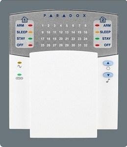 Calcolatore centrale Keboards K32 dell'allarme di sistema dell'allarme