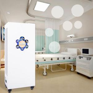 360W UV de desinfección del aire de HEPA purificador de aire de aniones Casa portátil higienizador sin producir ozono