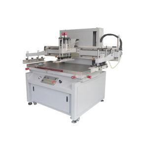 A alta precisão de mesa Vertical Semiautomático Serigrafia Máquina para folha plana