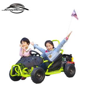 A fábrica 80cc barato Racing Go Kart Gás de buggy nas dunas Mini-Go Kart para crianças