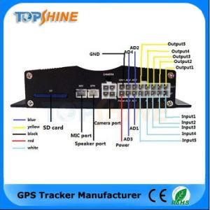 A alavanca multifuncional de 4 Sensor de Combustível Rastreador GPS do veículo de RFID da câmara