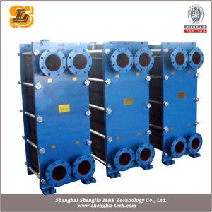 냉각 낭비를 위한 Ss316 유형 격판덮개 열교환기