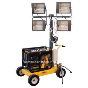 4*400W generador diesel de la torre de iluminación móviles