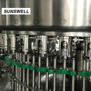 PEのびんのアルミニウム液体の詰物およびシーリング機械