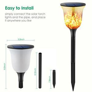 太陽庭ライトダンスの炎LEDの景色ライト
