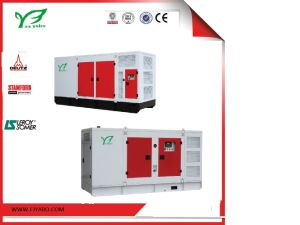 125kVA無声タイプDeutzエンジンの水によって冷却されるディーゼル発電機