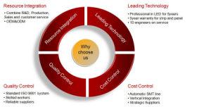 De recentste LEIDENE Technologie van de Lichtbron en Digitaal Ontwerp dat wijd in LEIDENE van de Planken van de Markt Verlichting wordt gebruikt
