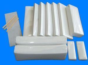 7cmx20cm bande de cire dépilatoire/non-tissé les bandes d'épilation de mousseline jetables