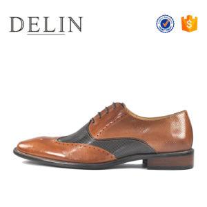 Los hombres el diseñador de calzado de cuero zapatos de vestir para hombres 2018