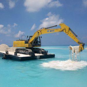 Escavatore Xe215c del cingolo da 21 tonnellata con la benna della roccia