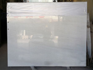 Mattonelle di marmo bianche di cristallo rivestimento cucina