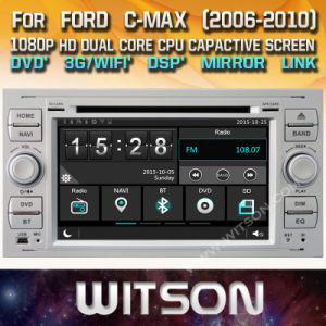 Tela de Toque do Windows Witson aluguer de DVD para o Ford Focus