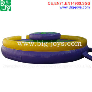 Almofada insuflável trampolim de água (water park-06)