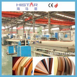 Una stampa di 3 colori e macchina di rivestimento UV per la fascia del bordo del PVC