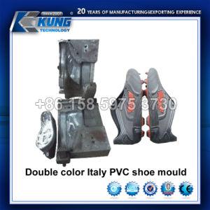 Italia la zapata de PVC de color doble molde para la fabricación de zapato