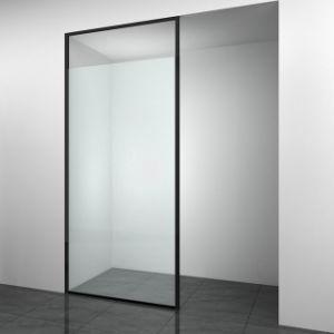 Chuveiro Bellavia caminhada de vidro na porta do chuveiro para Espaço Pequeno