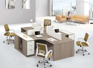 Cruz moderna estación de trabajo modulares de oficina estándar para 4 persona (SZ-WST629)