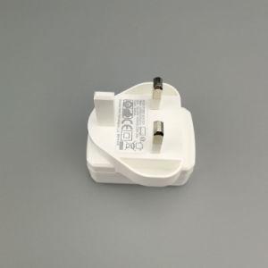 6V 2A 12W BRITISCHER Stecker USB-Energien-Adapter mit CB Cer-Bescheinigung