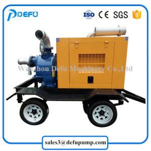Suministro de la fábrica de motores diesel de alta capacidad de las bombas de aguas residuales con remolques