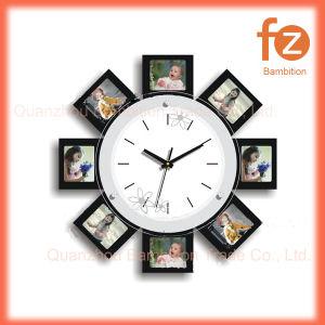 Reloj de pared de la imagen de Venta caliente Varios estilos innovadores comercio al por mayor Reloj de pared Pared Vintage Antiguo reloj redondo de madera para la decoración del hogar016008 Fz.