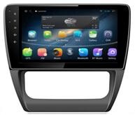 10.1pouces Sagitar Android VW 2014 avec le GPS, Bluetooth, AV-in, DVR, radio, WiFi