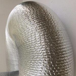 Épaissir la cuisine de l'air d'échappement d'aluminium conduit souple