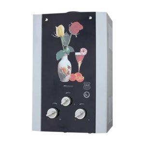 ガラスパネルデザインダクトガス送管の給湯装置- (JSD-GM8)