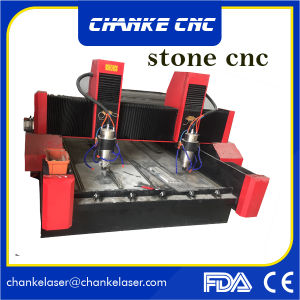 Ck1325 CNCの3D浮き出し作業のための大理石の打抜き機