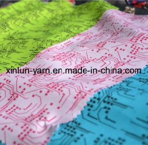 Kundenspezifisches 75D Digital Polyester gedrucktes Gewebe für Beutel/Vorhang