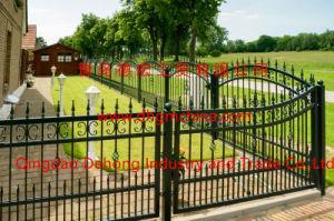 装飾用に贅沢の囲うか、または錬鉄の塀のパネル