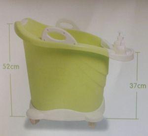 2015 het Hete Verkopen! De de plastic Kleurrijke Diepe Emmer van het Bad van de Baby/Badkuip van de Baby