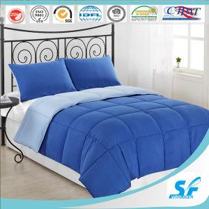 couvre lit matelass solide couverture bleu d 39 t chaudes courtepointe en polyester couvre lit. Black Bedroom Furniture Sets. Home Design Ideas