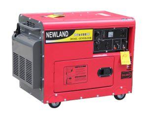 Air-Cooled 3kw無声100%Copperディーゼル発電機