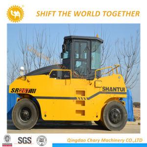 26 톤 Shantui Sr26t-3 유압 타이어 롤러