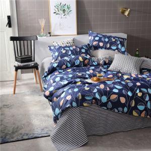 高品質の100%年の綿のPercaleによって印刷されるシーツか羽毛布団またはベッド・カバーまたは寝具セット