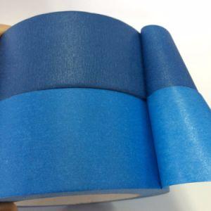 Pintores de papel liso azul fita de camuflagem para pintura e decoração