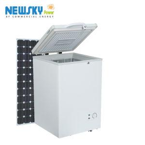 panneau solaire automatique batterie rechargeable Acdc Adaptateur congélateur (BR408RF)