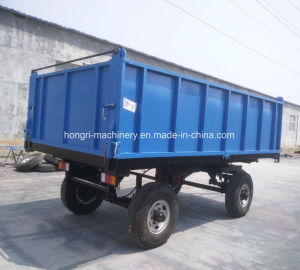 8 van de Tractor ton van de Aanhangwagen van het Landbouwbedrijf/de Aanhangwagen van de Doos/Tippende Aanhangwagen voor Verkoop