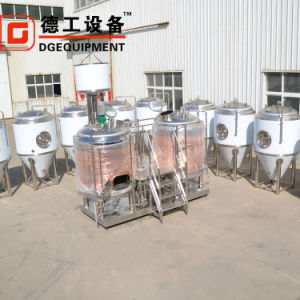 1000L Vermelho Cerveja Cervejaria de equipamentos de cobre