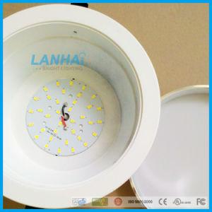 ダイカストで形造られたアルミニウム5.5inch 15With12W天井灯引込められたLEDはつく