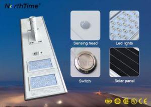 Intelligentes einteiliges IP65 LED Solarstraßenlaternemit Sonnenkollektor