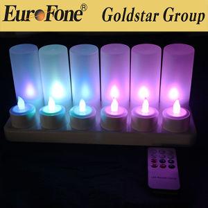 A luz de LED com controle remoto Recarregue facilmente livre na Base