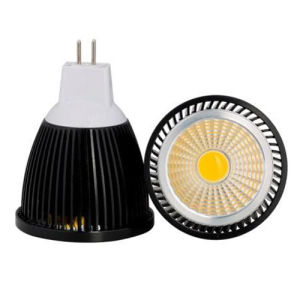DC12V 5W MR16 COB LED Spot Light mit Black House